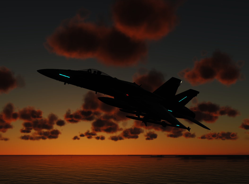 Joint Service Strike - F/A-18C Hornet SEAD
