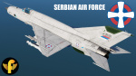 MiG-21Bis Serbian Air Force