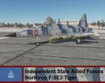 Independent State Allied Forces F-5 Tiger - Ace Combat 4