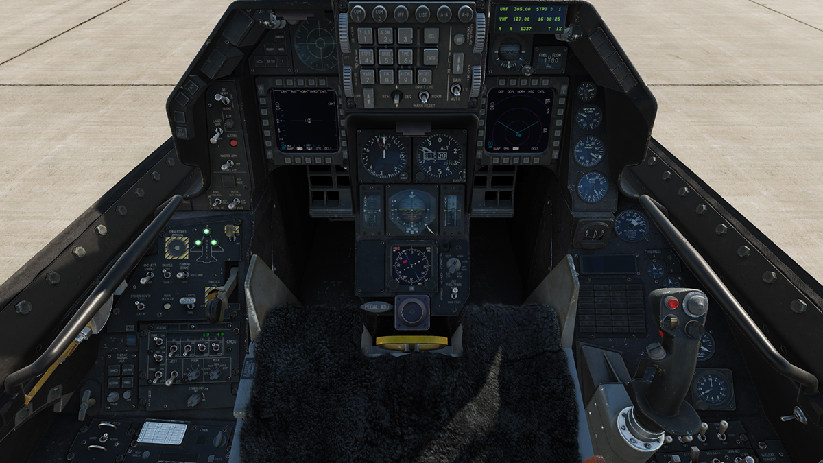 Dark Cockpit Mod RTAF F-16 eMLU (Original LaFleur13 Modified)