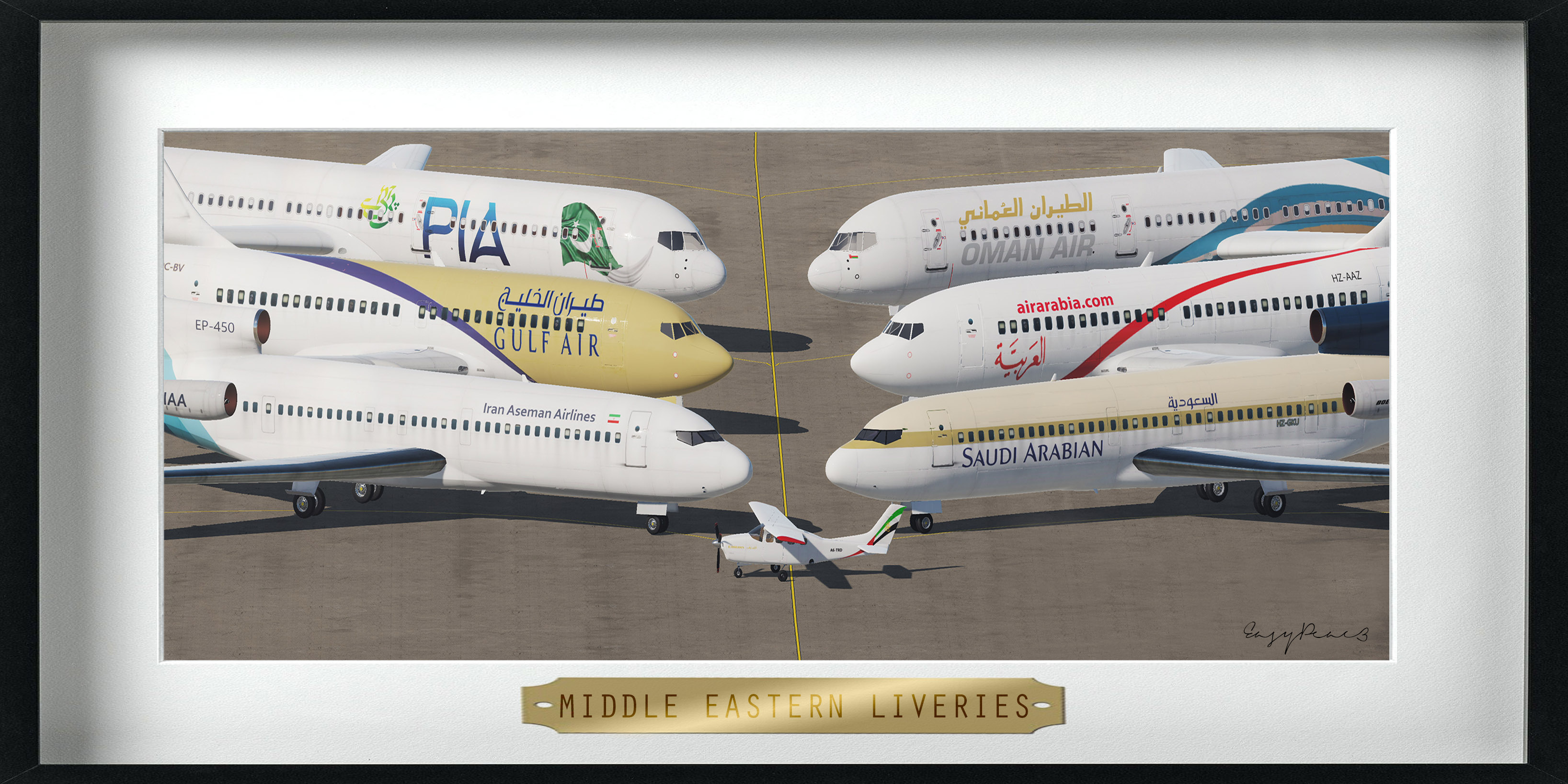 Middle Eastern Civil Aviation (for CAM)