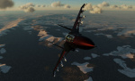 Su-33 Flanker Black Knights (Fictional skin for USAF Aggressors)