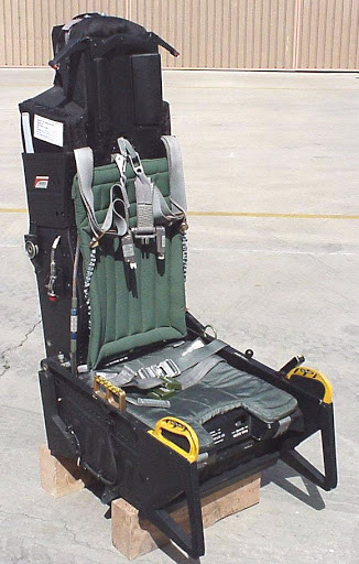F-15C Black Ejection Seat