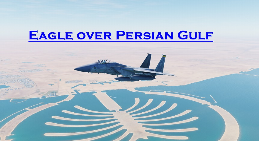 Eagle over Persian Gulf using Mbot Dynamic Campaign Engine