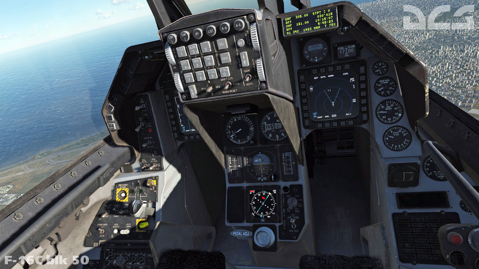 F-16C - Louder cockpit Switches Mod & louder gun in cockpit V1.0 - NEW INSTALATION 2.5.6.45317 or later