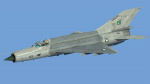 Pakistan Air Force F-7PG (Fictional Mig-21)
