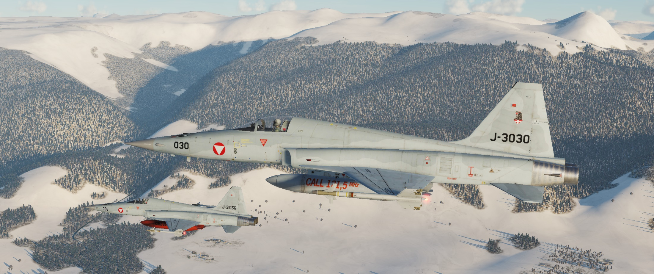 F-5E-3 Austria Air Force Pack v2