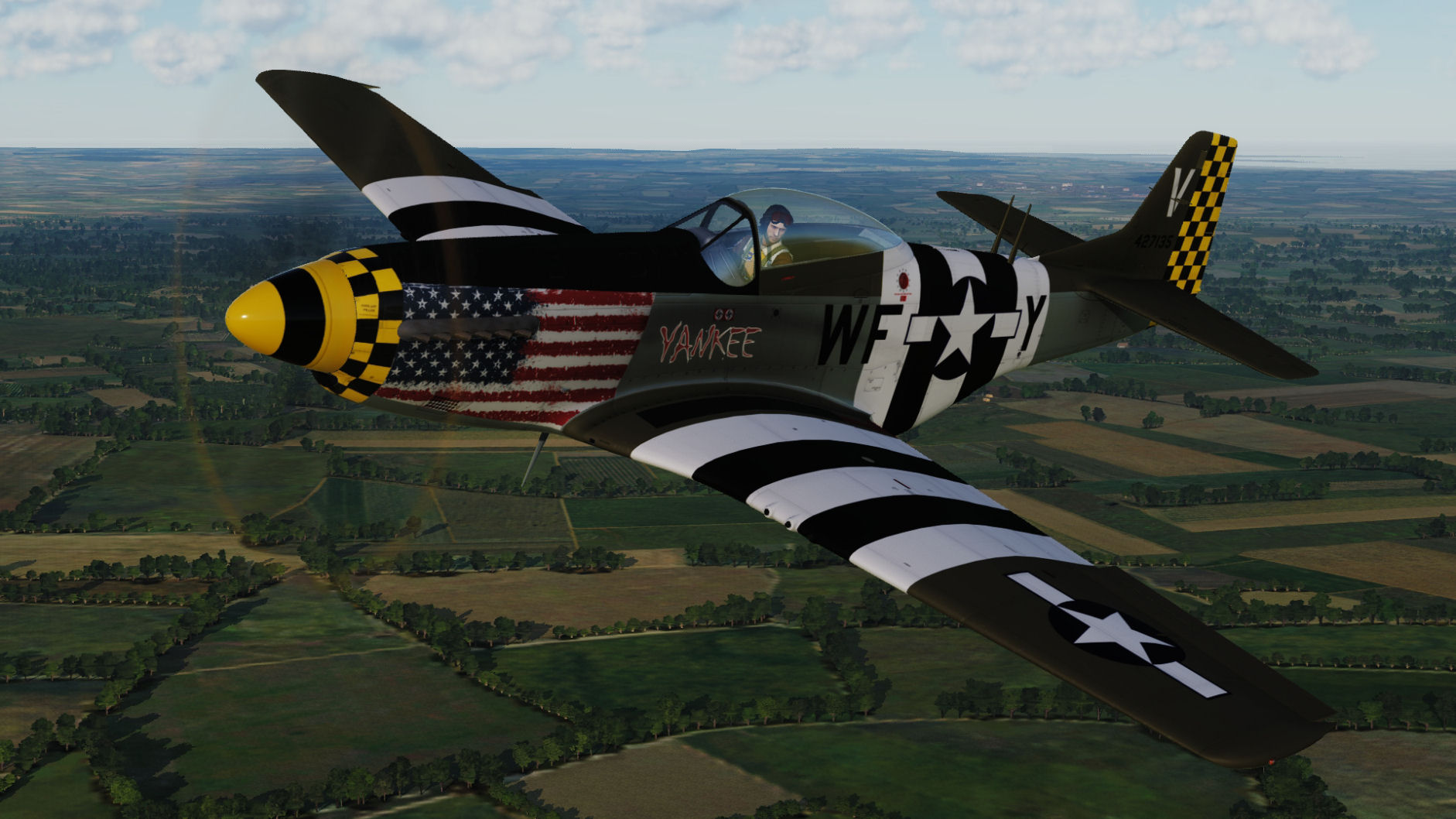 "USAF - ""Yankee"" WF-Y 44-27135 for DCS World 2.5"