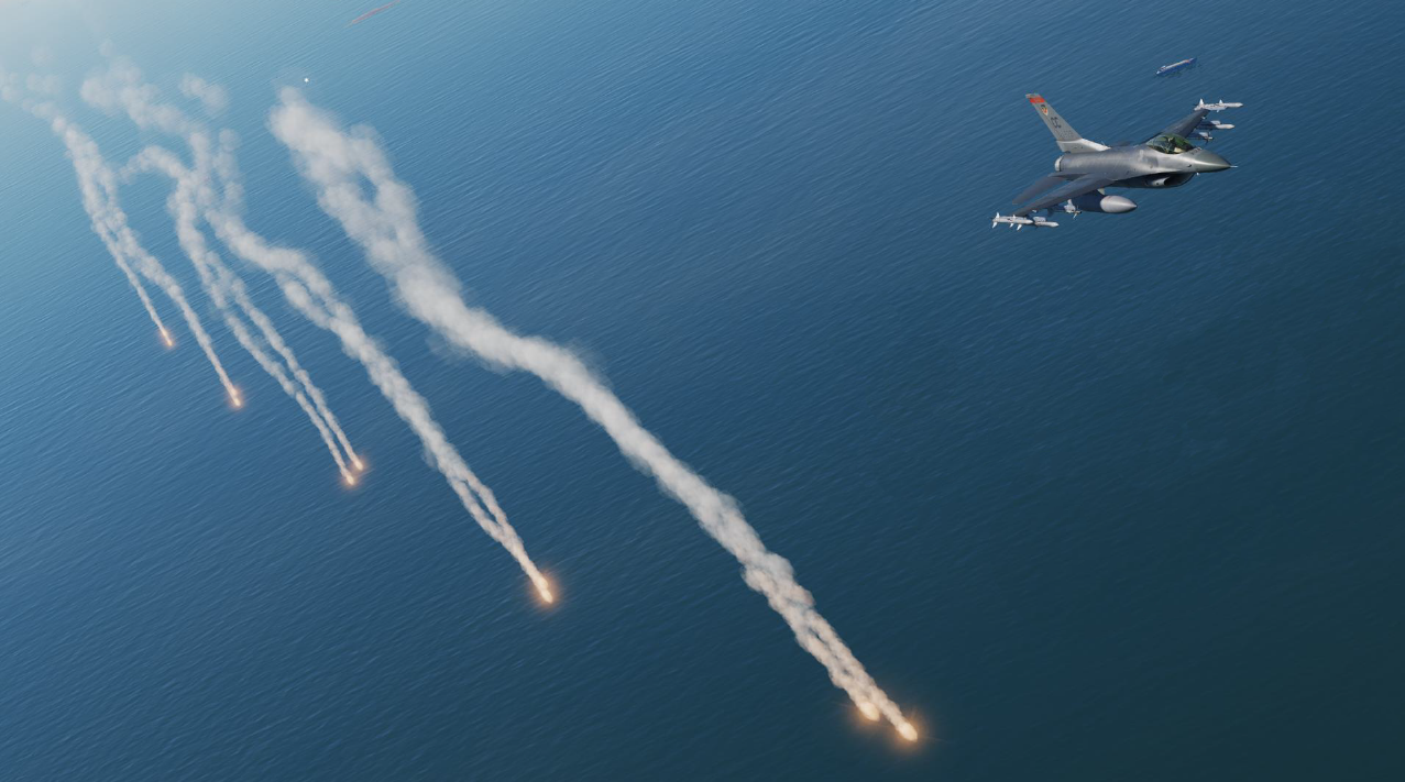 Sydy's F-16C Countermeasures (JSGME ready)