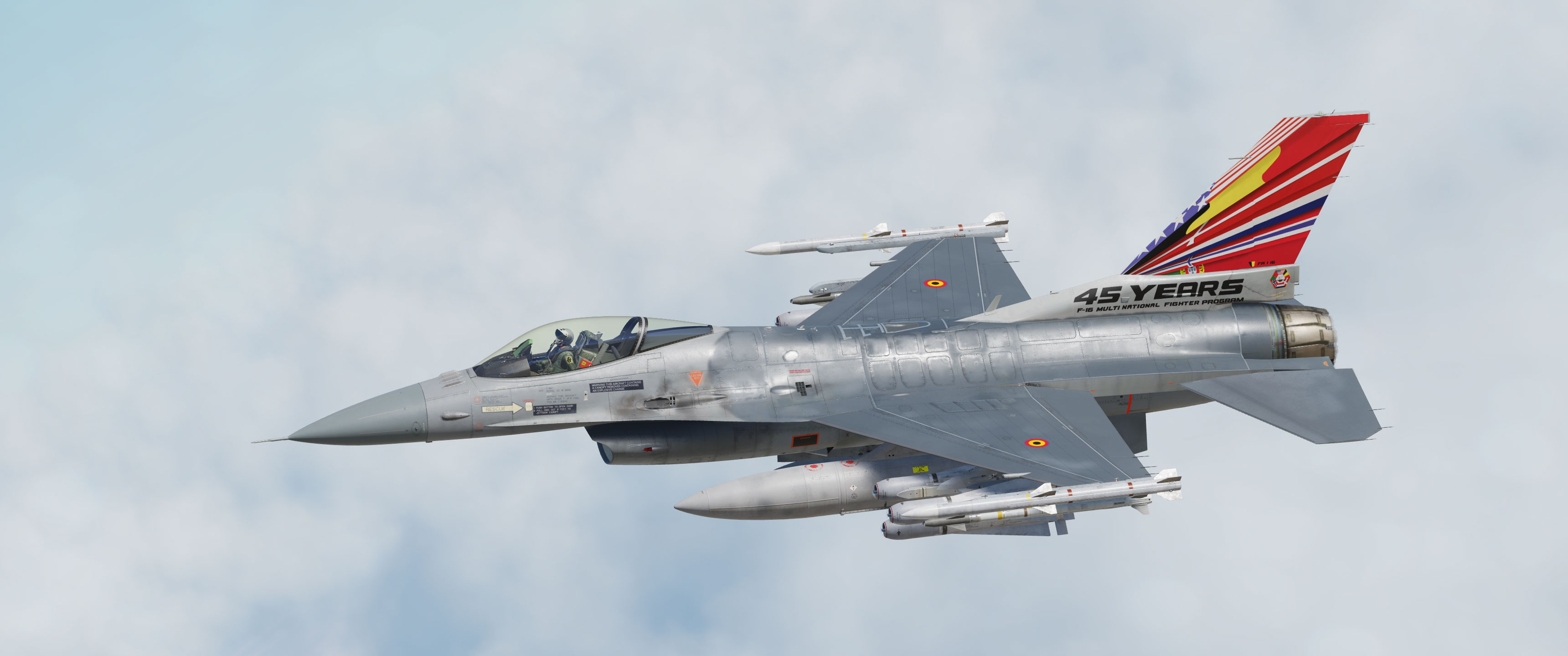 F-16 Belgian Air Force Multi-National Fighter Program