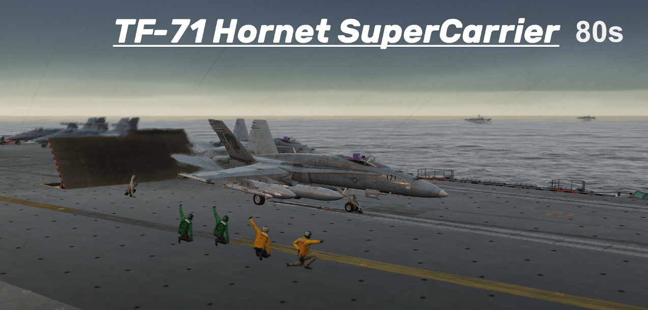 TF-71-80s Hornet SuperCarrier using Mbot Dynamic Campaign Engine