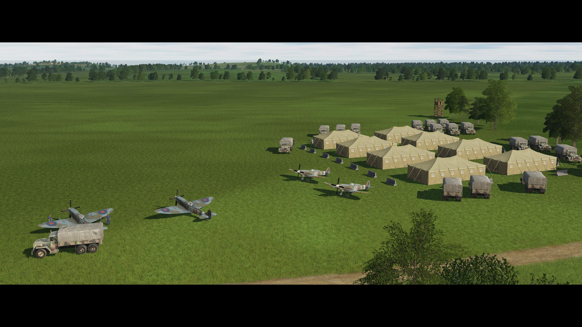 Operation Jubilee - FARP TRAINING, Bombing, Takeoff and Landing.