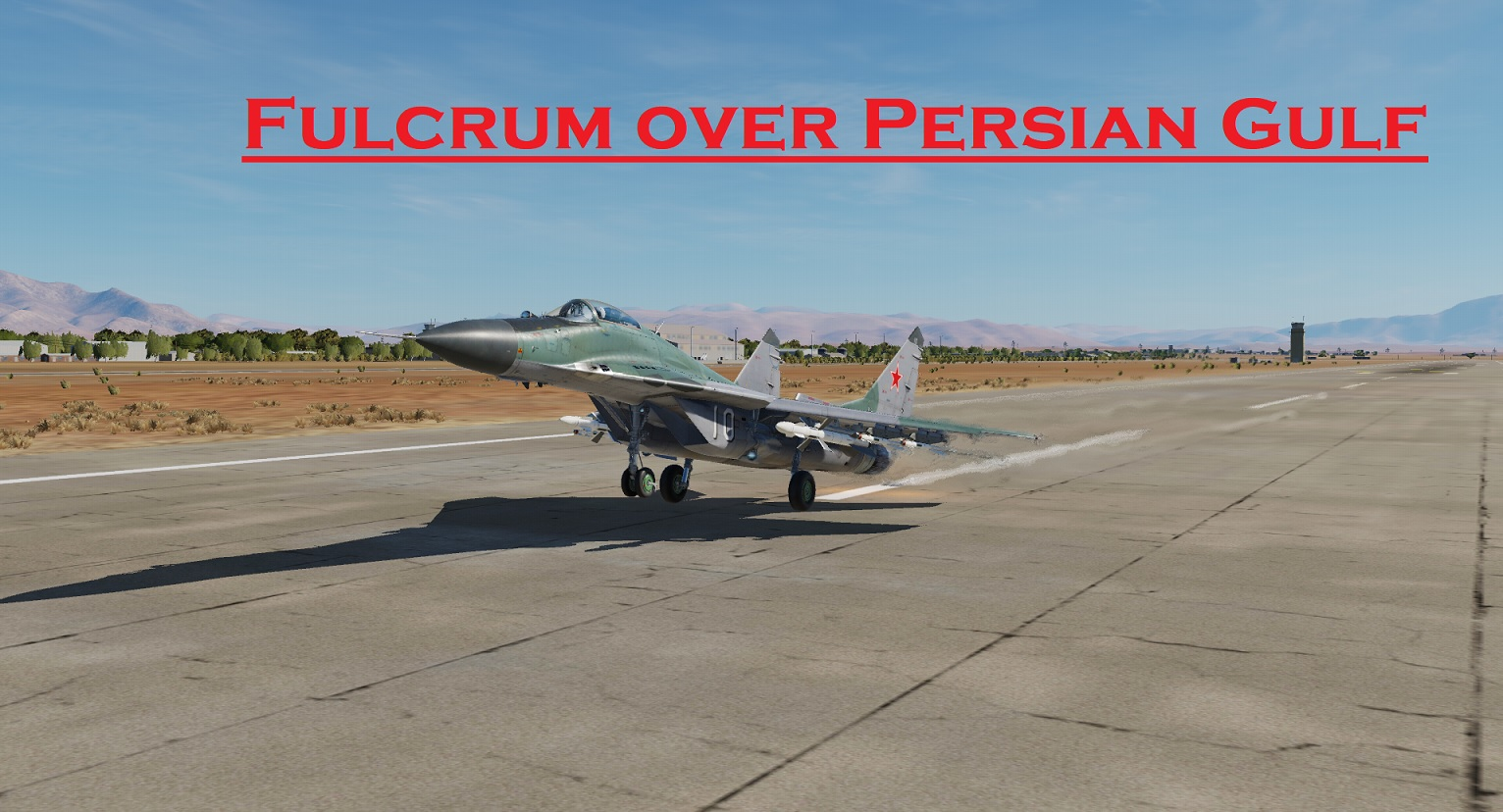 Fulcrum over Persian Gulf using Mbot Dynamic Campaign Engine