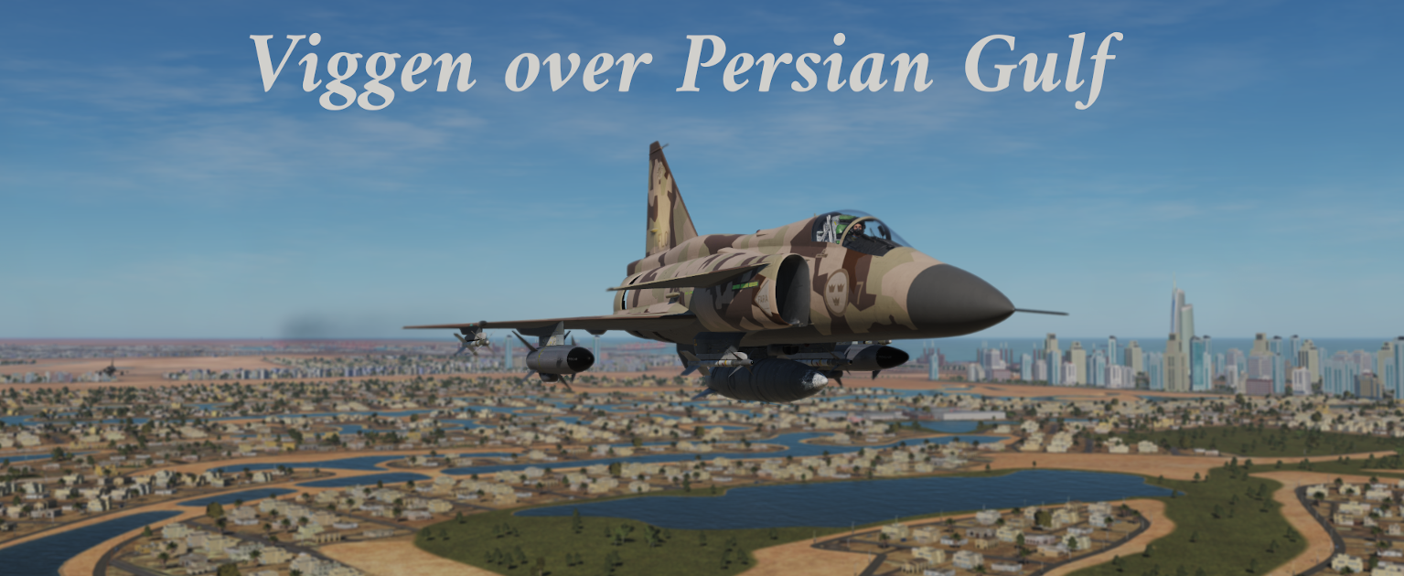 Viggen over Persian Gulf using Mbot Dynamic Campaign Engine