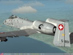 "Fictional Swiss AF ""Steinbock"" Sqn. Skin for A-10C"