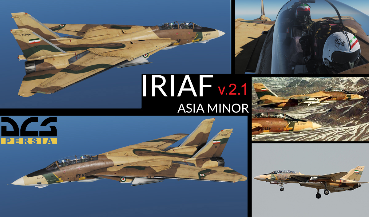 F-14B(A) Asia Minor IRIAF [3-6080] (Fictional) v.2.1 [4/23/2019]