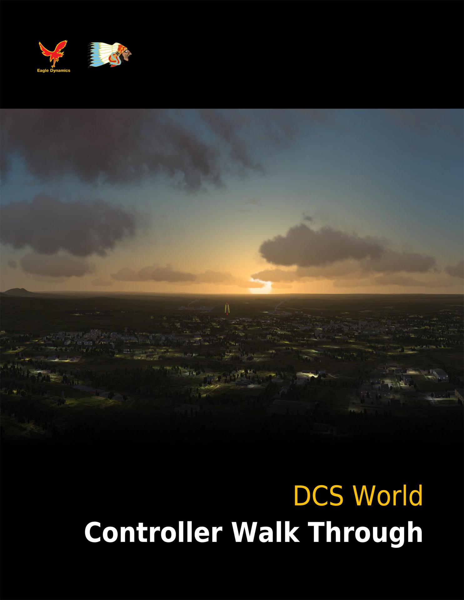 DCS World Controller Walk Through