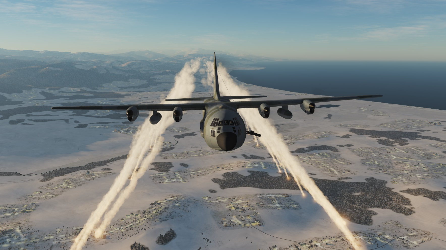 MOD AC-130 GUNSHIP AIRBORNE AND CARGO for 2.5.4 by Eric and Patrick