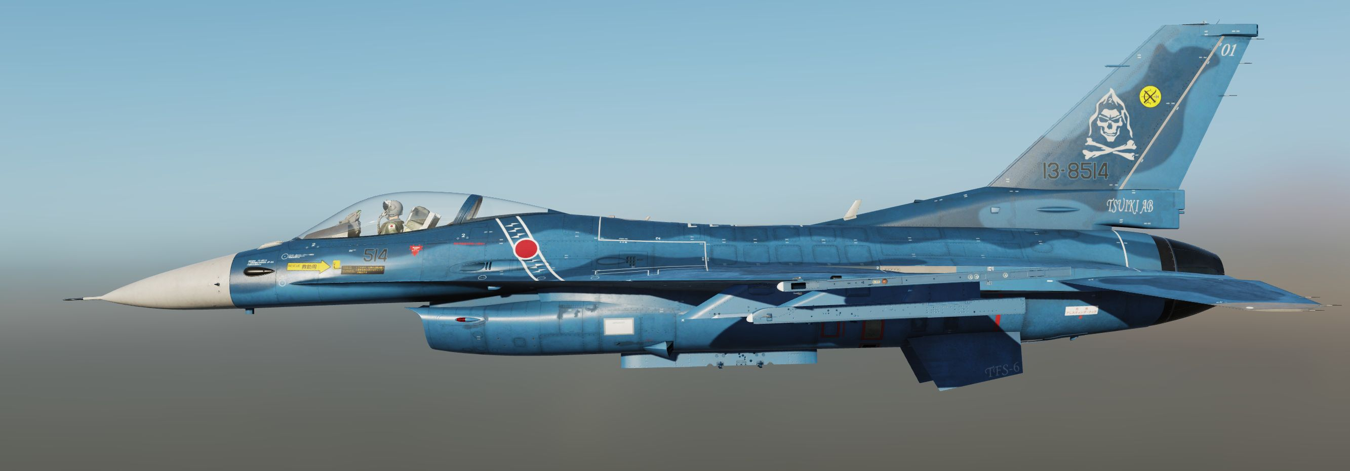 [Fictional] JASDF 6th TFS Skull Riders TAC Meet 2010 V2.01