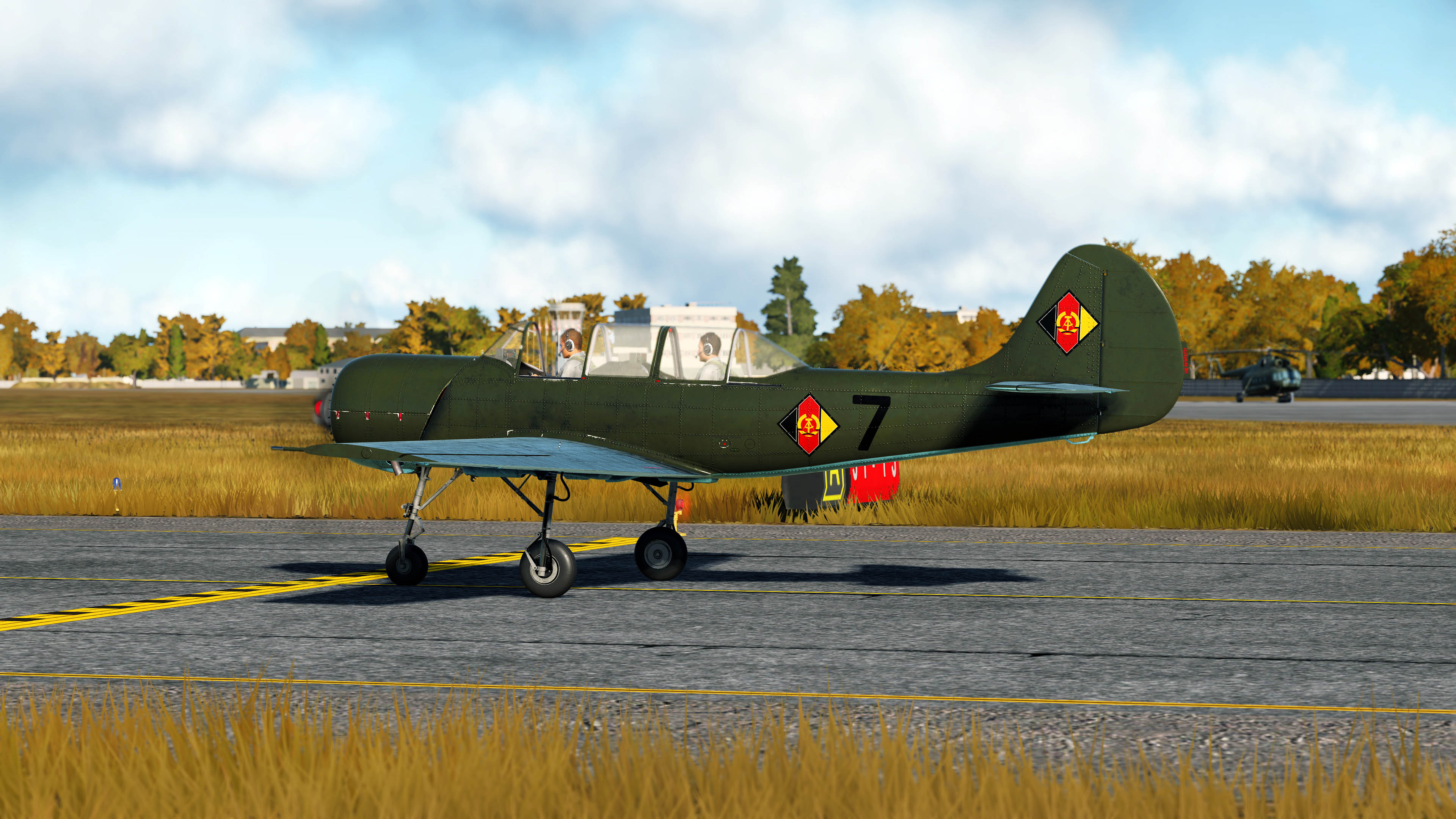 Based on an East German Yak 18A