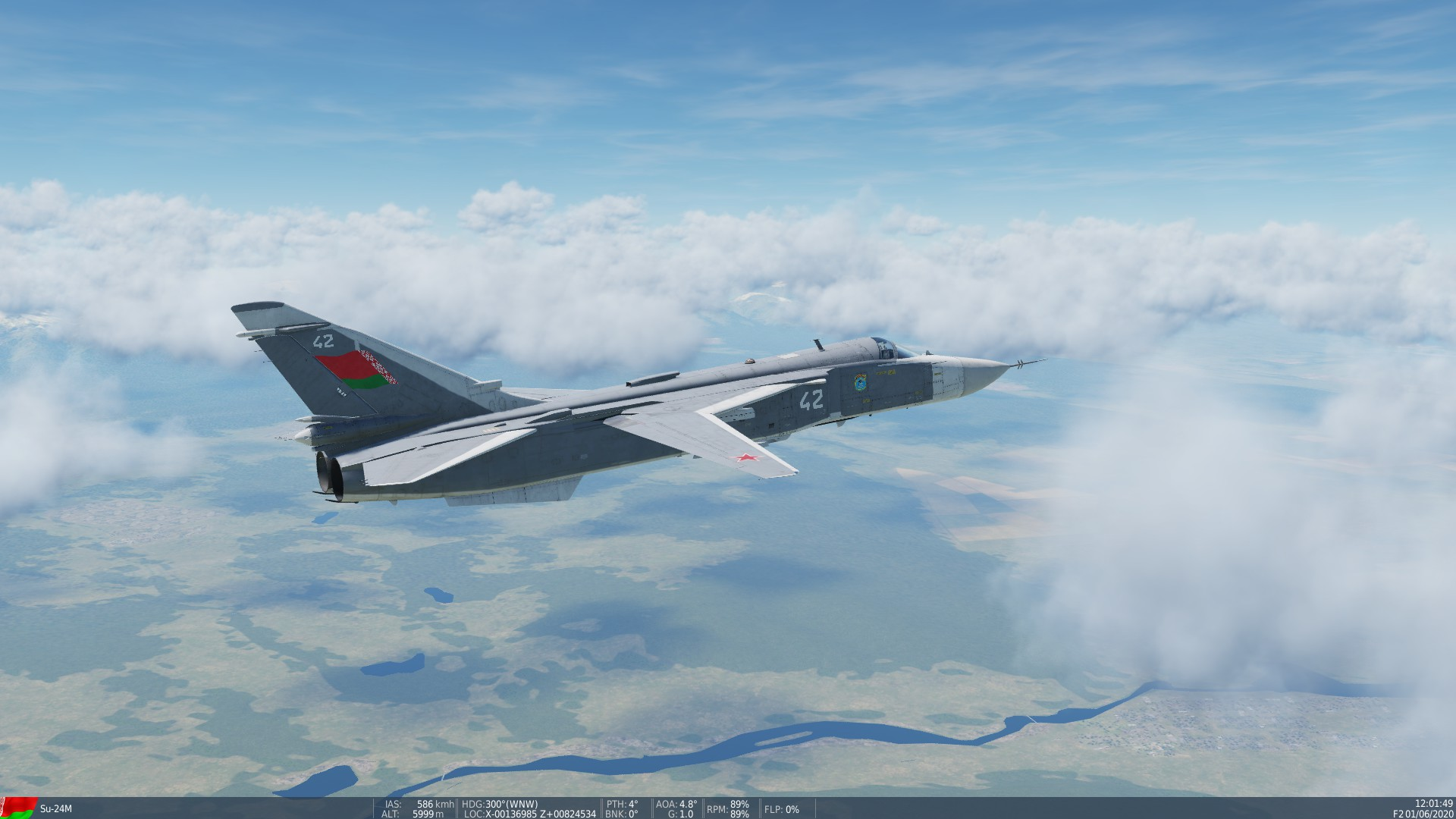 Su-24M Belarusian Air Force 116th BRAB Lida AB