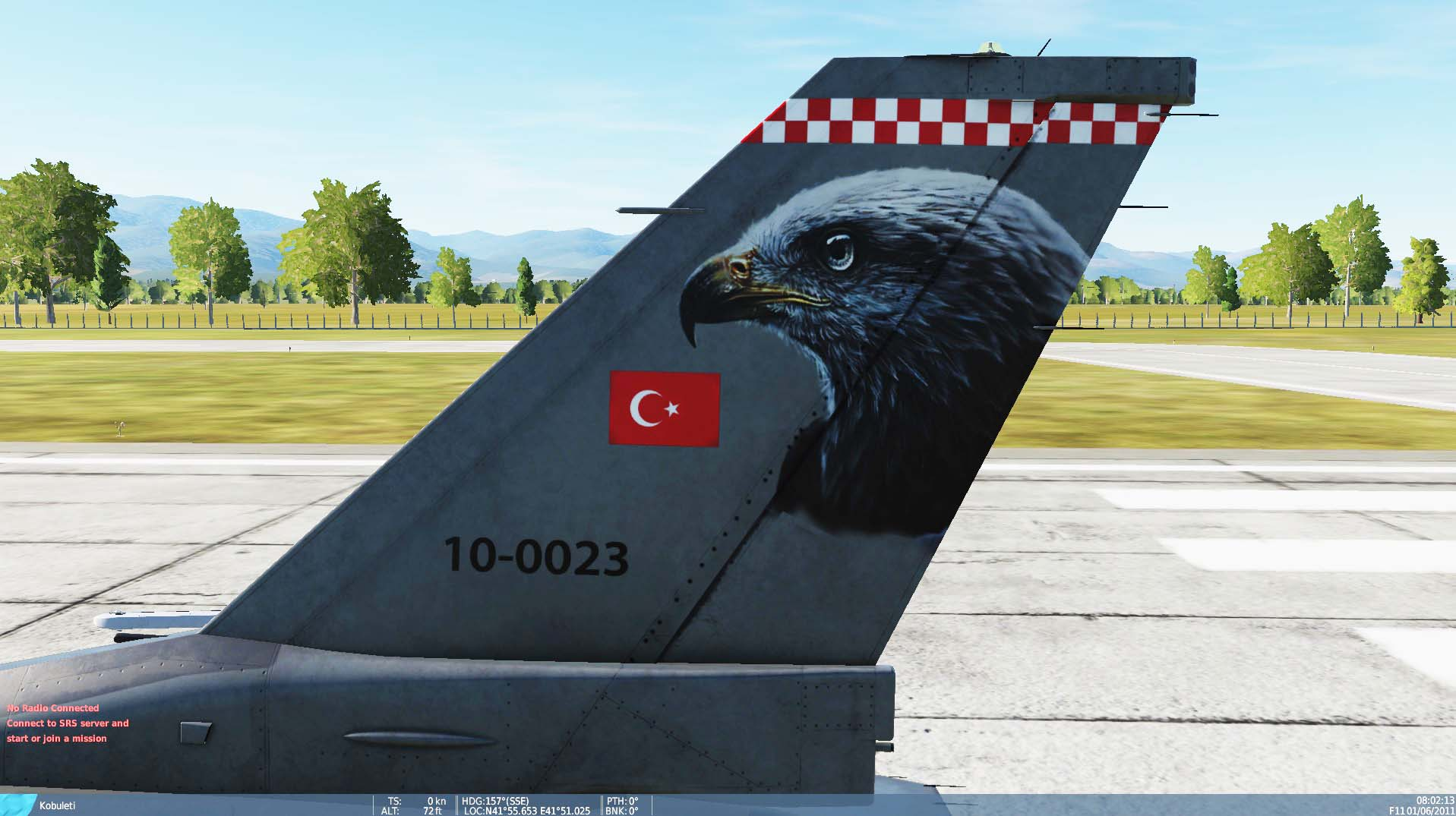 Turkish Air Force - Şahin Filo ( Fictional ) - Livery - V 1.8 - by AngrybirdTR