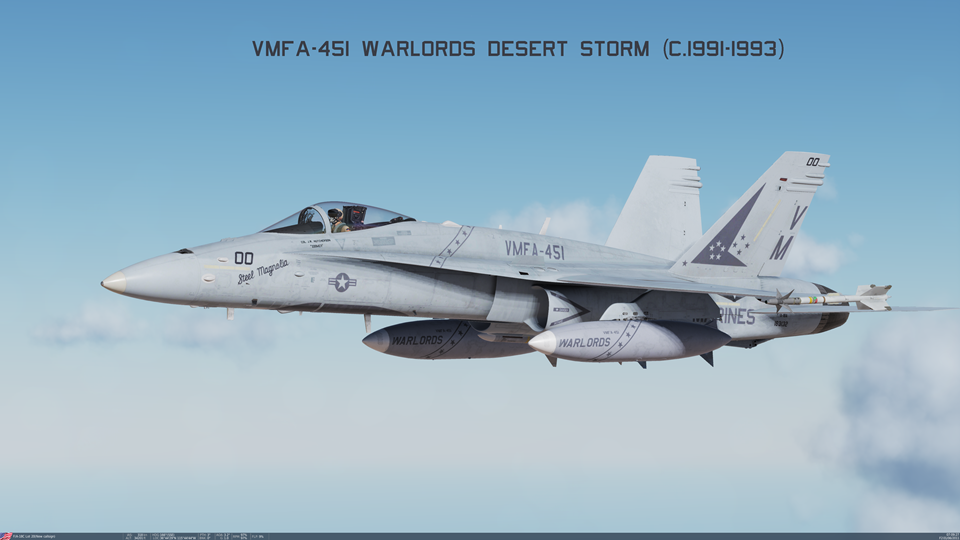 VMFA-451 Warlords Desert Storm Pack 2 of 3 (c.1991-1993)