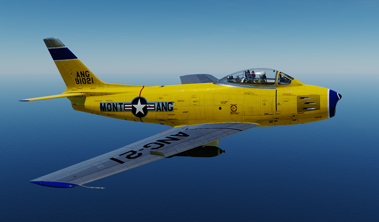 F-86F Montana Air National Guard