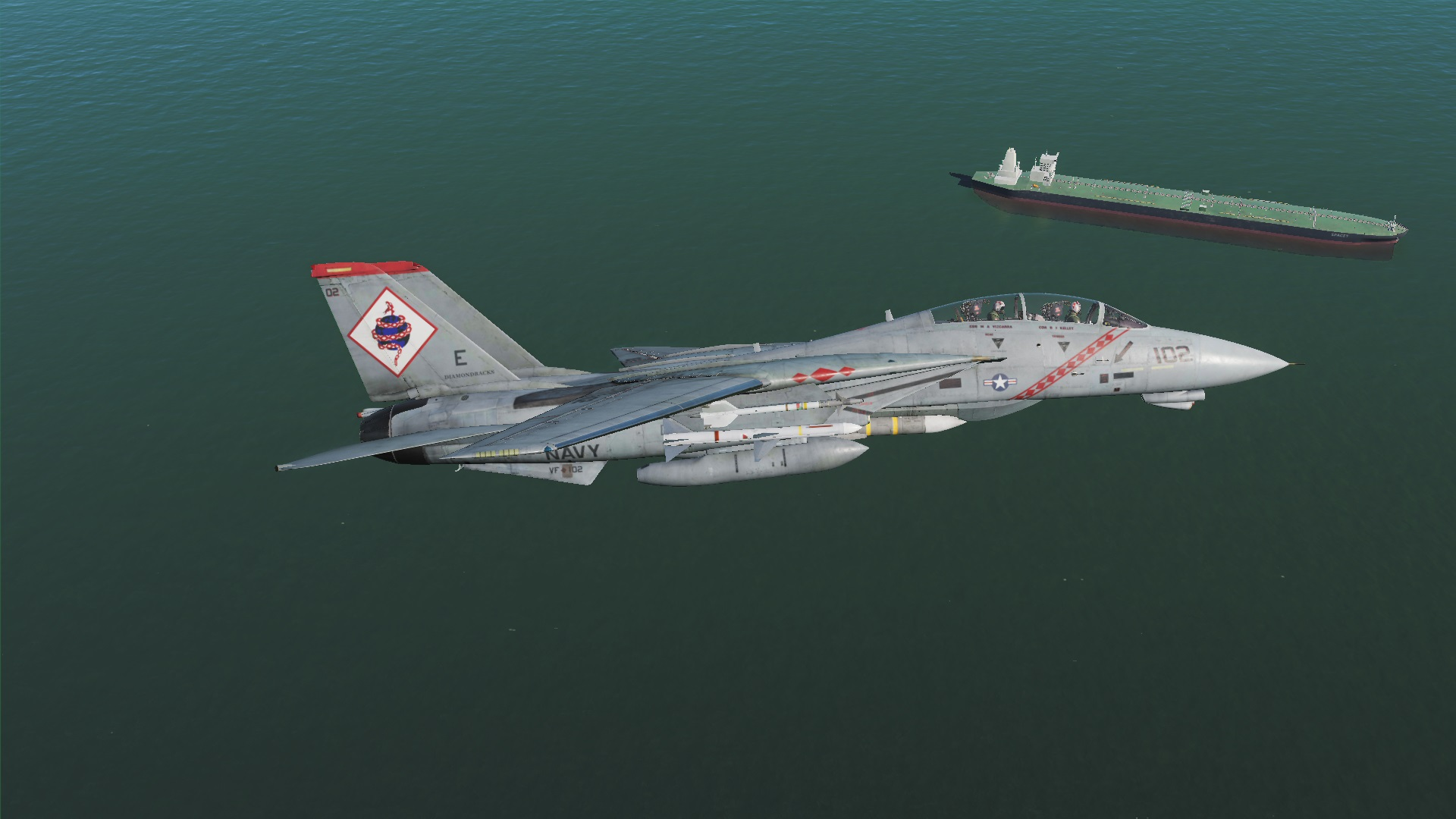 Operation Persian Gauntlet - Jane's F-15 Iran Campaign Reimagined (F-14B)