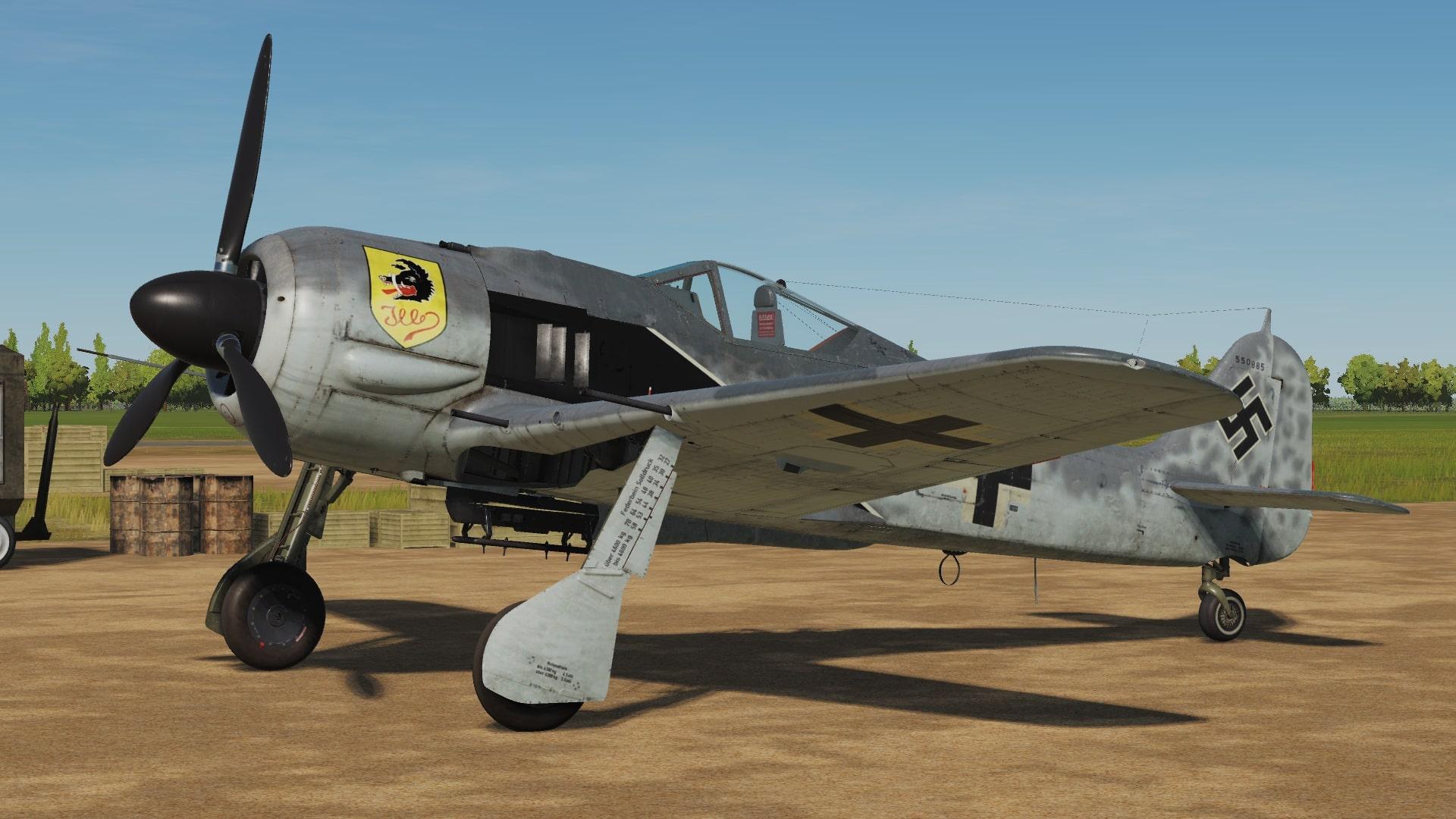Focke Wulf 190 From Classic Hangar | The German Classic