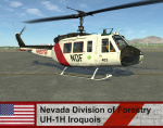 Nevada Division of Forestry UH-1H Iroquois - DCNR  *UPDATED*
