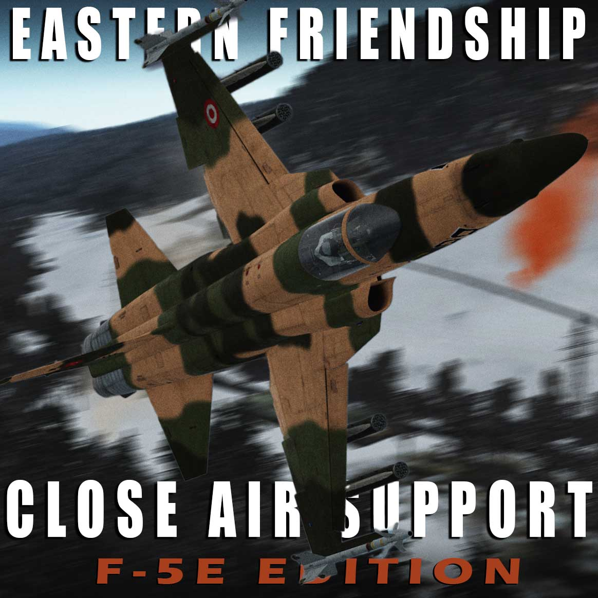 Eastern Friendship Mission 1 - Close Air Support F-5E Edition (version 1.0, uploaded March 6, 2021)