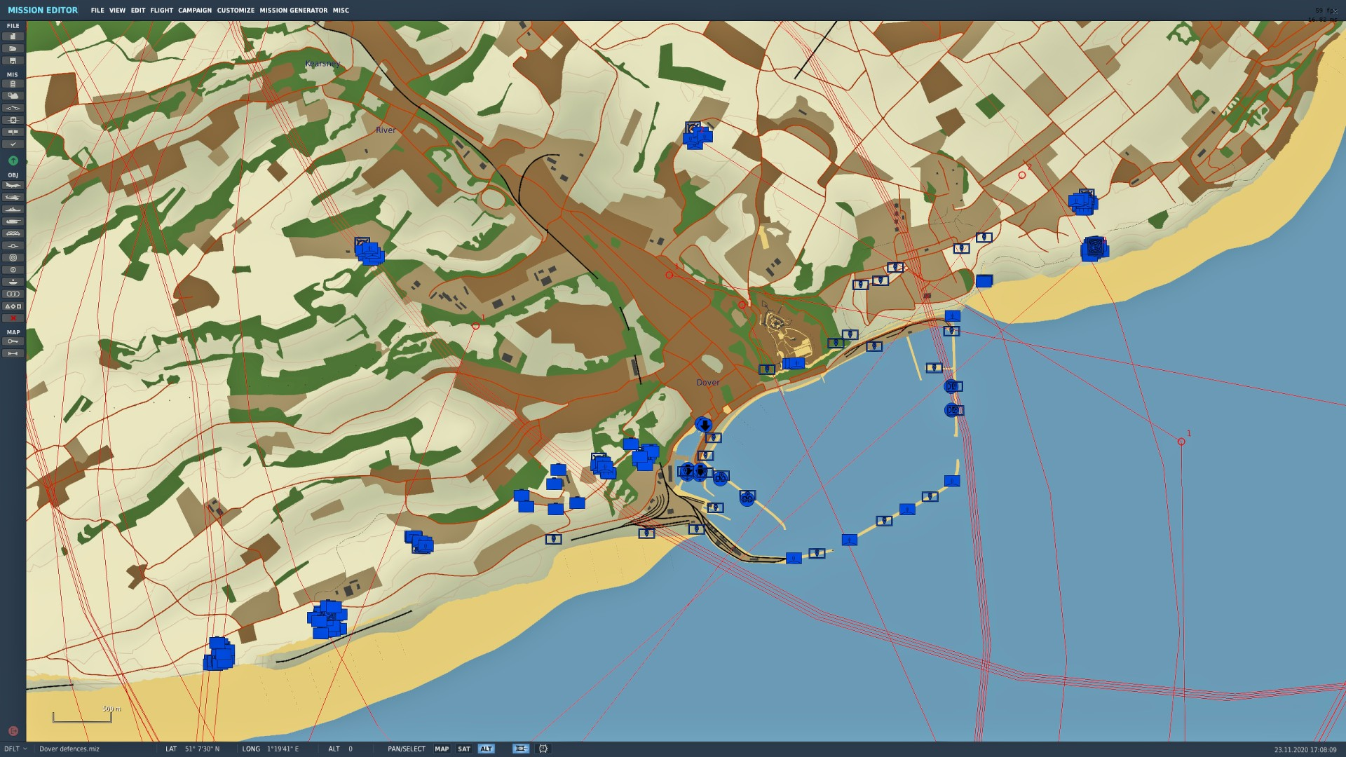 Dover defences (The Channel Map) v0.2