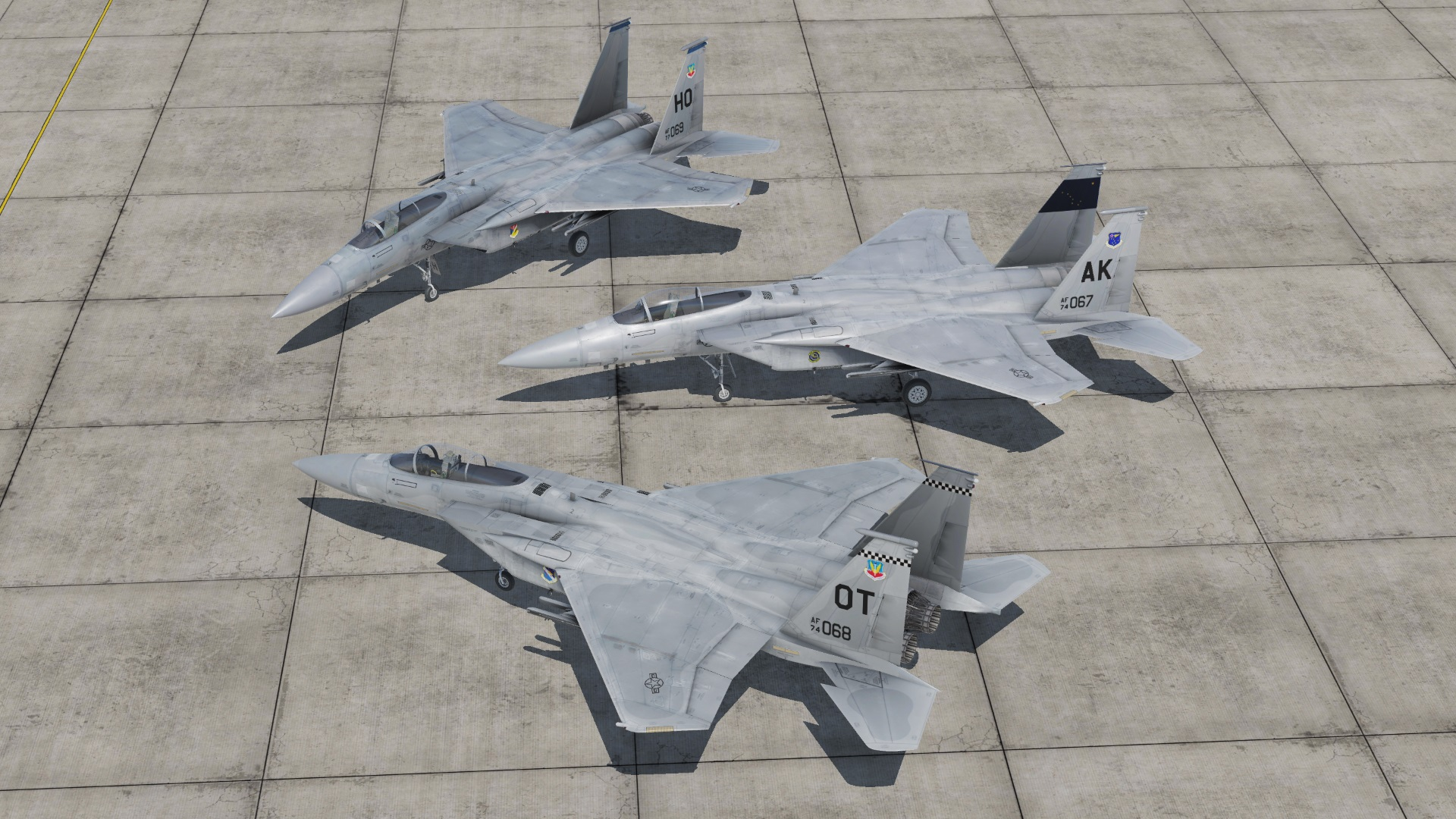 F-15A liveries 3-pack