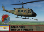 Sapin Army UH-1H - Ace Combat Zero (9th AAB, 4th Sqd)   *UPDATED*
