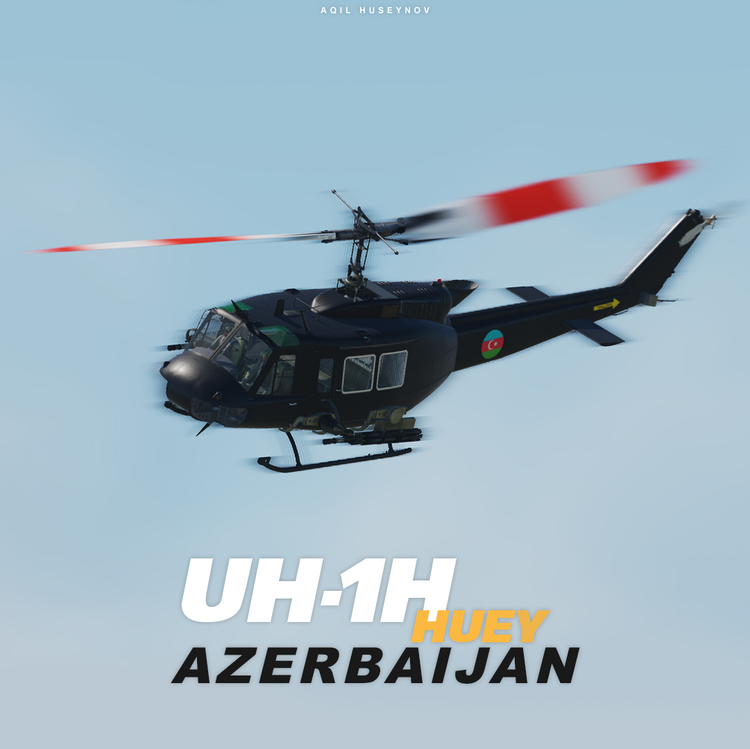 UH-1H Azerbaijan Air Force