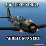 Fw 190 D-9 Dora Normandy Aerial Gunnery Tutorial