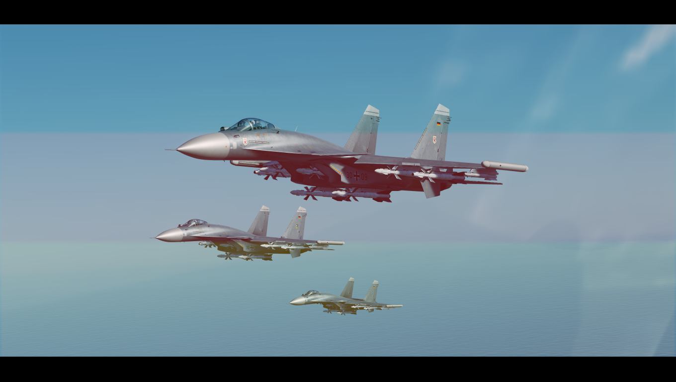 Fictional german airforce Su-33 skinpack