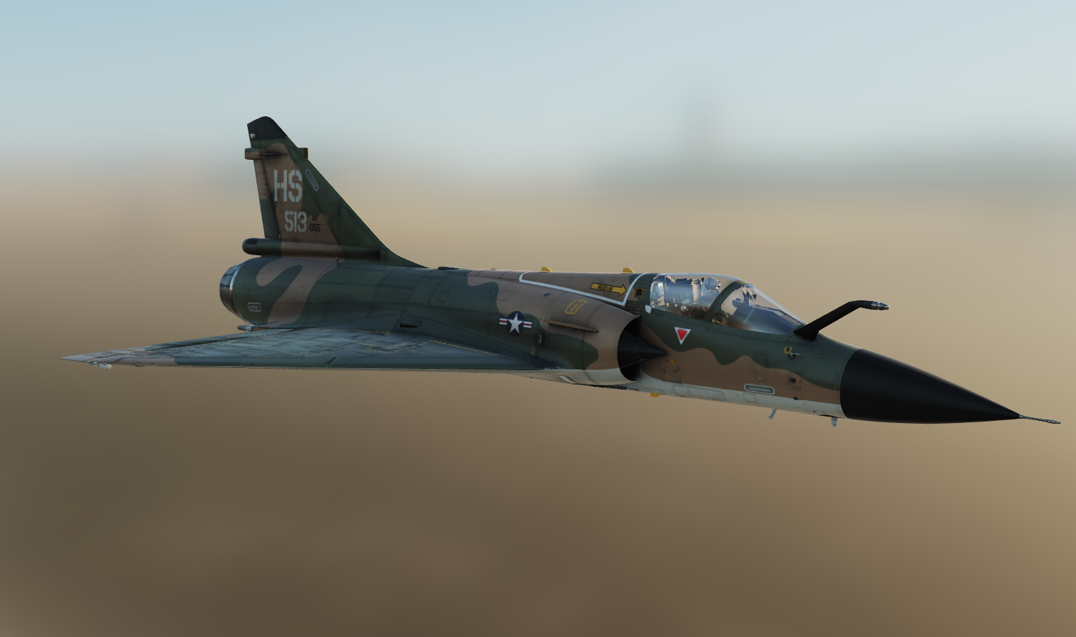 South East Asia no.513 Mirage 2000c