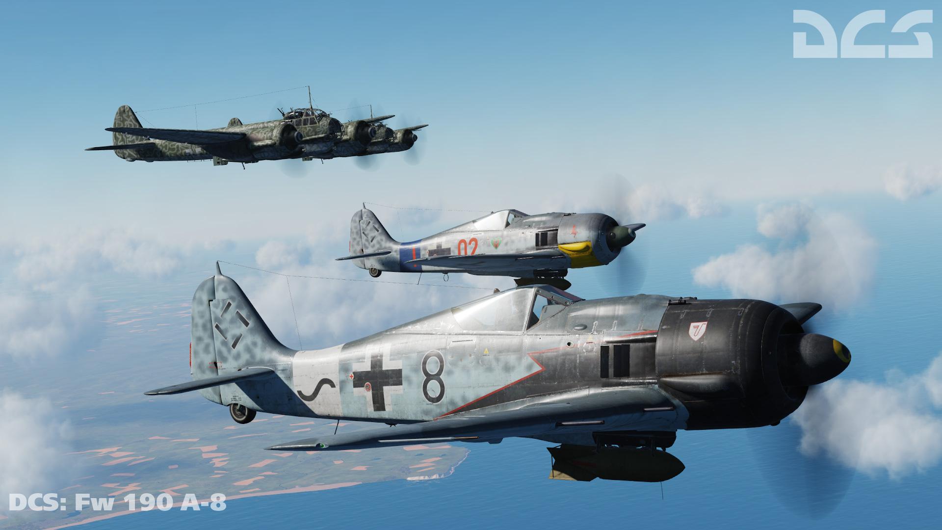 Обои войны, bf.109, мировой, Fw-190, истребители, второй. Авиация foto 17