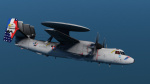 Operation Chesapeake special livery, E-2C Hawkeye, French Navy, Flotille 4F