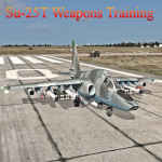 Su-25T Weapons Training