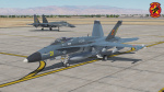 "Virtual Strike Fighter Squadron 69 ""Honeybadgers"" Aggressor (PLAAF Air Superiority Colors) (Fictional)"