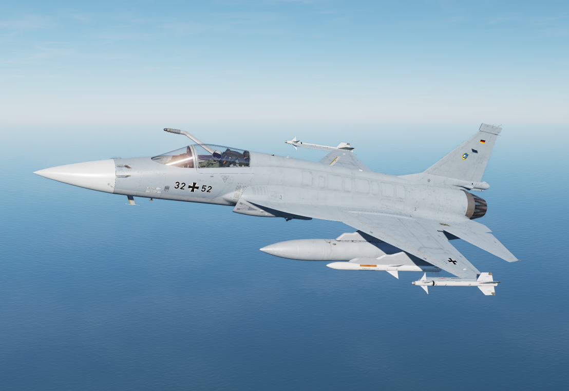 Fictional german airforce JF-17 Neuburg