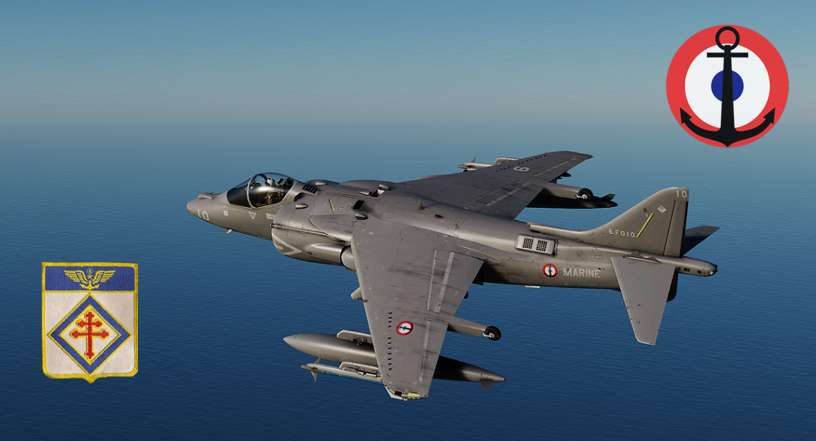 [Fictional] AV-8B French Navy - Flottille 6F