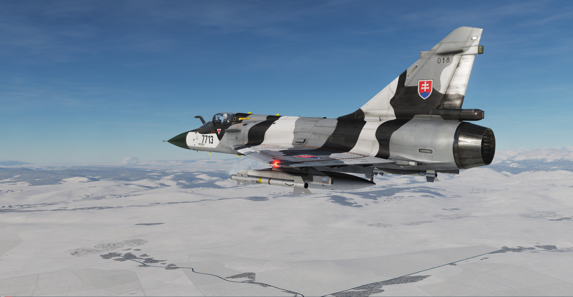 "Mirage 2000C Slovak Air Force ""Milka"""
