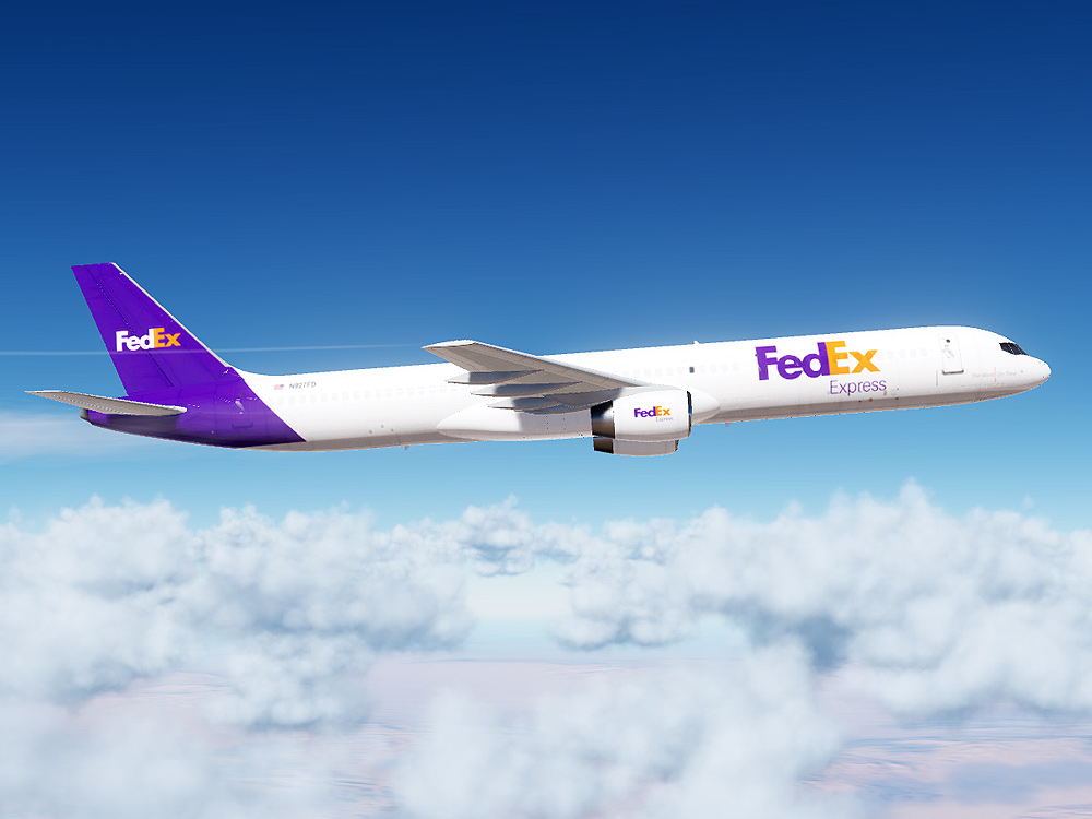 FedEx Boeing 757 (Modern Paint for Civil Aircraft Mod)