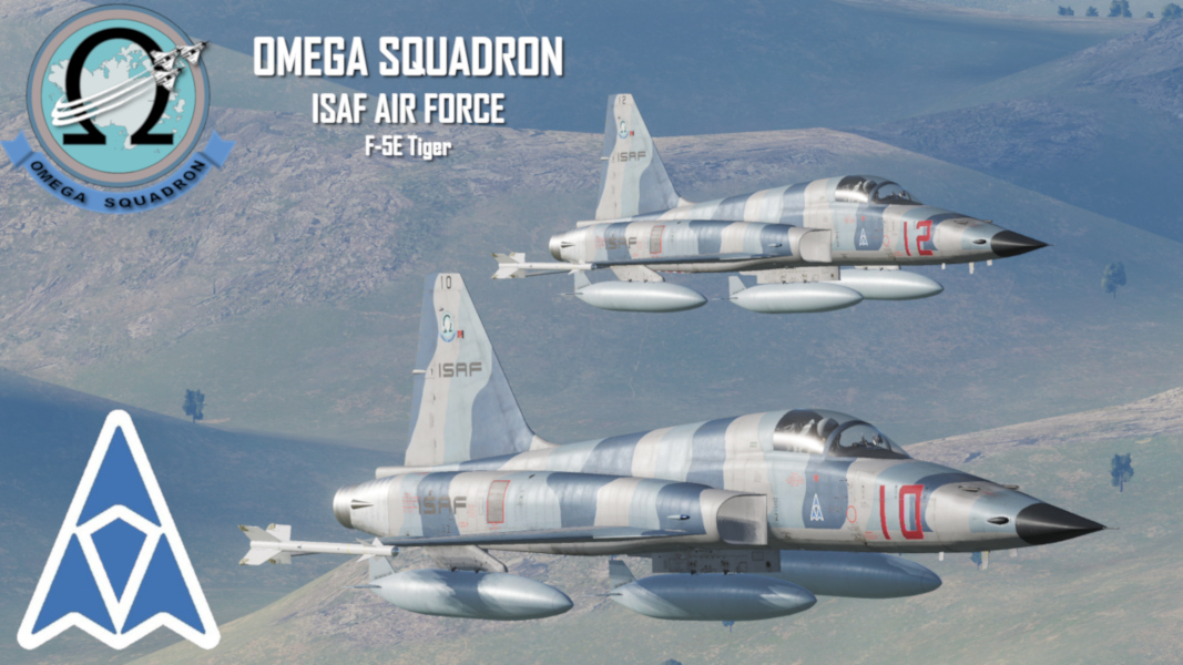 Ace Combat ISAF Air Force - Omega Squadron F-5E [SWW]