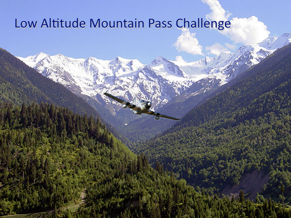 Low Altitude Mountain Pass Challenge for World War 2 Aircraft (v1.1)