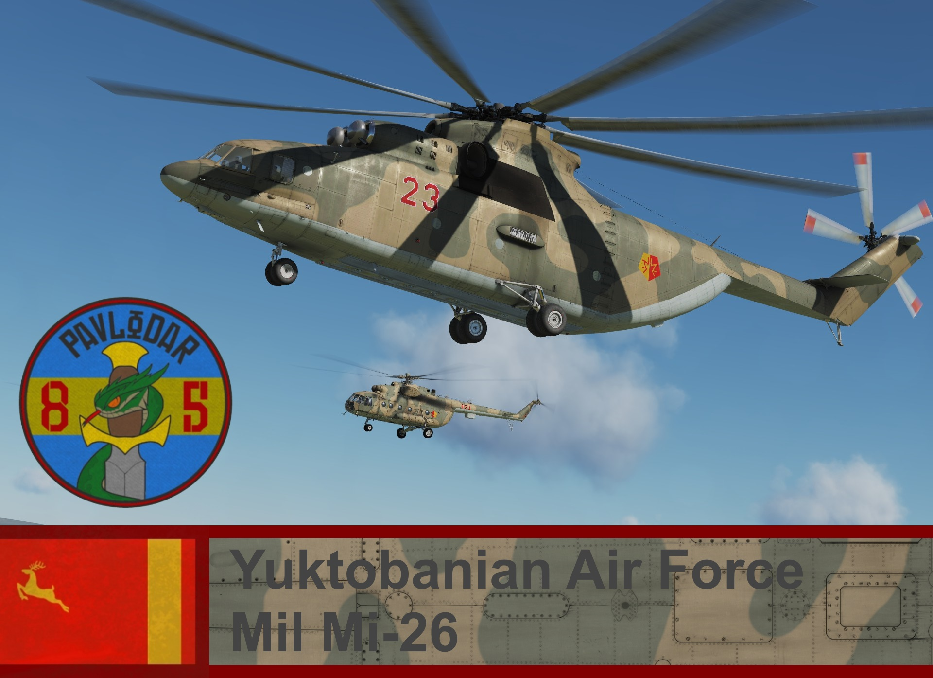 Yuktobanian Air Force Mi-26 - Ace Combat 5 (85 IHS)